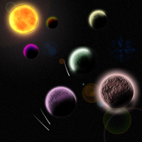 Solar System by foonicycow