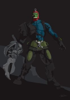 Masters of The Universe - Trap Jaw by witchking08