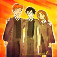 the golden trio by ljiuy