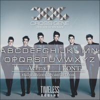 Cross gene  Font by StillPhantom