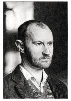Mark Gatiss by MeikeZane
