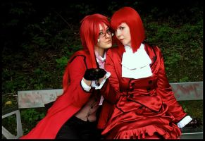 Red Couple by KimmyToNipsu