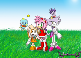 Cream, Amy Y Blaze by lissfreeangel