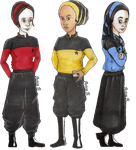 Jewish Woman In Starfleet by hatoola13