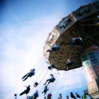 Holga 3 12 Fair Ride by LDFranklin