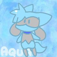 Chibi Aqua by Chocolatewoosh