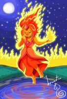 Flame Princess by brunotsu
