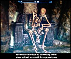 Skyrim relates to life by KxG-WitcheR