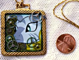 My Little Pony Zecora Brass Necklace by elllenjean