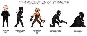 The Evolution of Stealth by Plutonia-V41