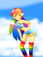 Rainbow Dash by FairyKeiStar