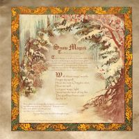 Book of Shadows Snow Magick by Brightstone