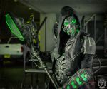 The DreadWraith - Full RGB LED dystopian armor by TwoHornsUnited
