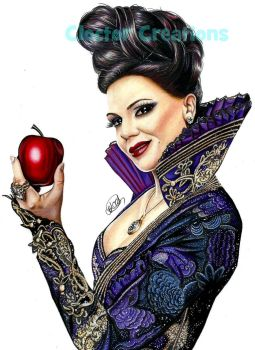 Regina Mills- Once Upon a Time by ItsCloctorArt