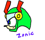 Zonic The Zone Cop by L3M0NL1M3