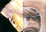 NinjaGo - Sketch Cards 2 by skcolb