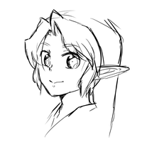 scribble:Link by jubeated