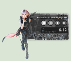 Lightning Returns: FFXIII Lumina WinAmp Skin by seraphimax