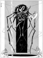 Lolth in Amber by JeffDee
