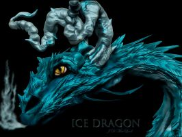 Ice Dragon by jdmacleod