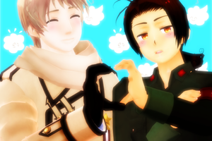 MMD RoChu Supporter by hetalia777777