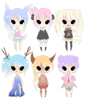 kimonomimi adoptables auction by ladybunny12