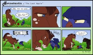 Horsetastic - The Last Apple by DolphyDolphiana