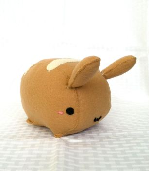 Bunny Bread Roll Plush by PinkChocolate14