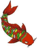 agw 25 08 Holiday Koi by SmoothRaven7