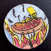 Hand Drawn Buttons - Frank by gippentarp