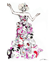 THE GAGA - Hello Kitty by MikaMaus