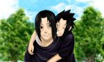 Sasuke and Itachi-  UPDATED by Renny08