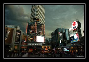 Dundas Square 1 by martinshiver