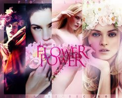 Flowers Power (model stock) by Susurros-Oscuros