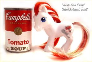 Soup Love Pony by MustBeJewel