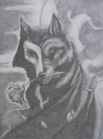 The Phantom Wolf by liengod