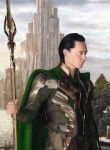 King Loki (drawing) by Quelchii
