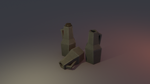 Low poly Jugs by lithium-sound
