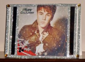 Justin B Xmas Card by blackrose1959