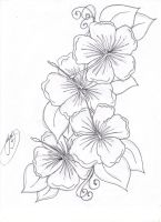 hibiscus flowers by Closet-Case-808