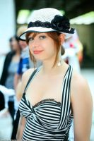 Girl with Hat by Lumis-Mirage