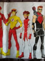 Young Justice 4 by golhom