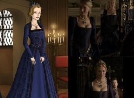 Catherine Parr Dark Blue by msbrit90