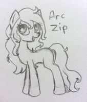 Arc Zip by mashaheart