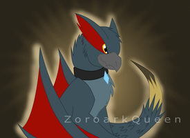 .: Gift :. Nargi the Nargacuga by QueenOfIllusion