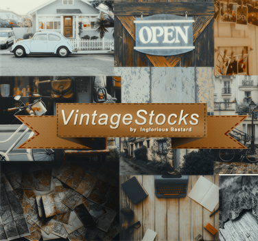 #01 Vintage Stock Pack by inglorious-bastard