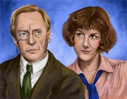 Peter and Harriet by Alene