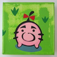 Little Mr - Print on Canvas by arcade-art