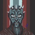 Color Pallet 9: Darth Maul by Umwak
