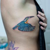 Kingfishertattoo by Shanuke